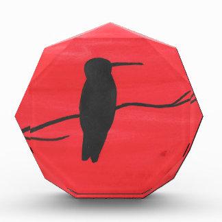 Hummingbird On Red Award