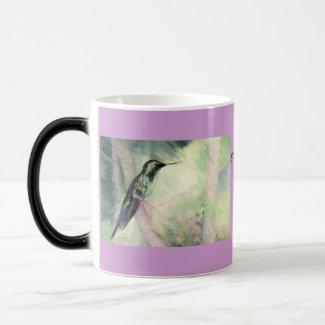 Hummingbird Pastel Fine Art Coffee Mug