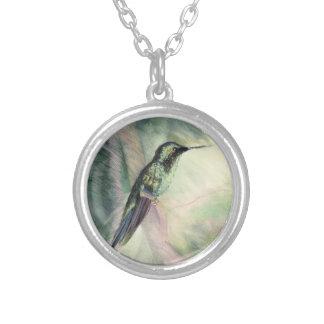 Hummingbird Pastel Fine Art Necklaces
