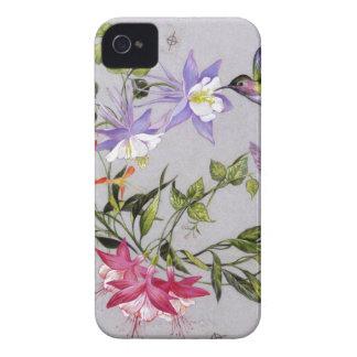 Hummingbird Petals Wrap-Around Case-Mate iPhone 4 Cases