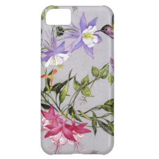Hummingbird Petals Wrap-Around iPhone 5C Case