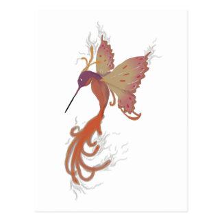 Hummingbird Phoenix Postcard