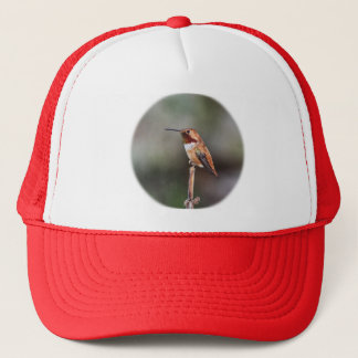 Hummingbird Photo Trucker Hat