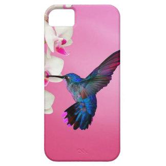 Hummingbird Pink Background iPhone SE/5/5s Case