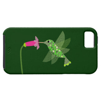 Hummingbird & Pink Flower iPhone SE/5/5s Case