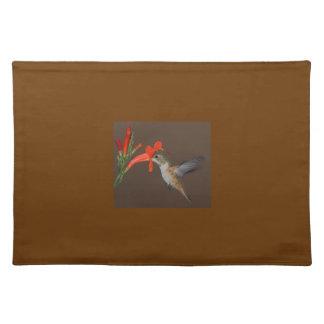 HUMMINGBIRD PLACE MATT PLACEMATS