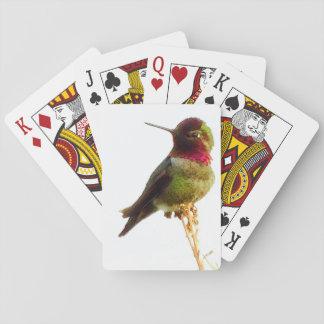 """""""Hummingbird"""" Playing Cards"""