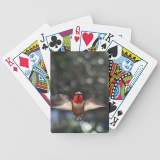 Hummingbird Bicycle Playing Cards