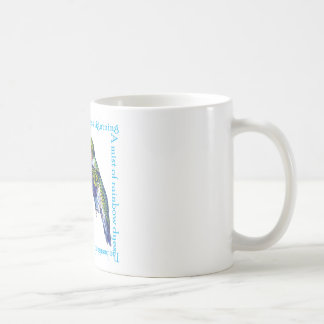Hummingbird Poem Classic White Coffee Mug