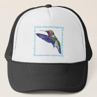 Hummingbird Poem Trucker Hat