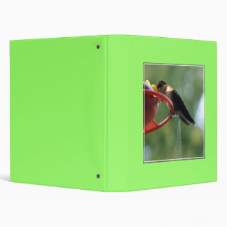 Hummingbird Poop! 3 Ring Binder