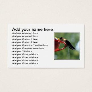 Hummingbird Poop! Business Card