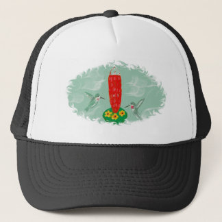 Hummingbird Print from Tinybirds Gifts Trucker Hat