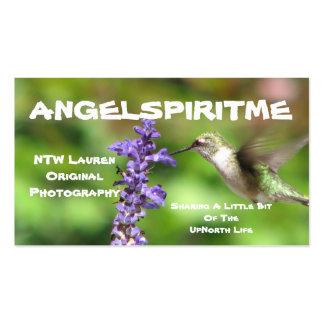 Hummingbird Profile Card 2 Business Card