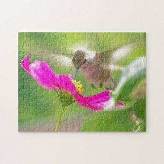 Hummingbird Puzzle