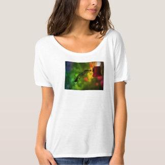 Hummingbird Rainbow Color T-Shirt
