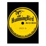 Hummingbird Records label Postcards