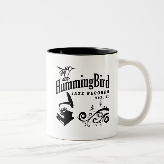Hummingbird Records Two-Tone Coffee Mug