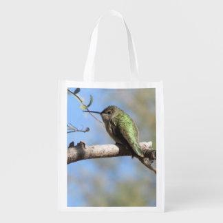 Hummingbird Reusable Grocery Bag