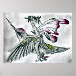 Hummingbird Rider Poster