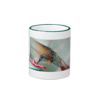 hummingbird ringer mug