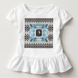 Hummingbird Rings and Yin Yang Design Toddler T-shirt