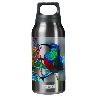 Hummingbird ruby throated 10 oz insulated SIGG thermos water bottle