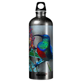 Hummingbird ruby throated SIGG traveler 1.0L water bottle