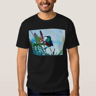 Hummingbird ruby throated t-shirts