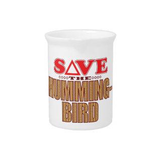 Hummingbird Save Drink Pitcher