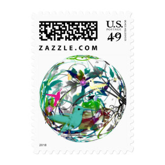 Hummingbird Serenade Stamps