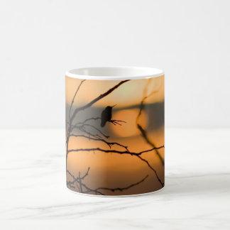 Hummingbird Silhouette Classic White Coffee Mug