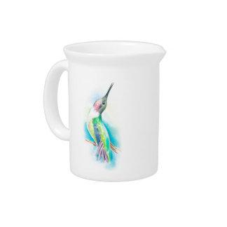 Hummingbird Singing Beverage Pitcher