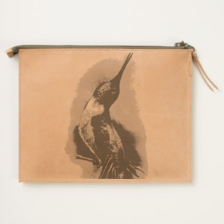 Hummingbird Singing Travel Pouch