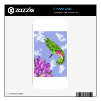 Hummingbird Skins For The iPhone 4