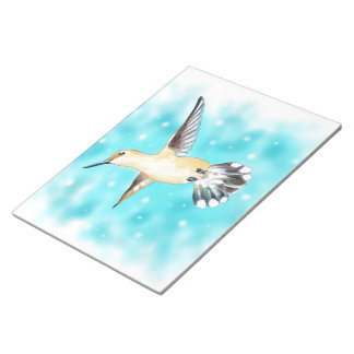 Hummingbird Sky Notepad