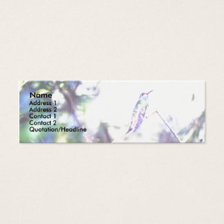 Hummingbird Slim Profile Card