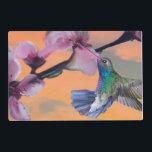 "Hummingbird Spirit Placemat<br><div class=""desc"">The hummingbird symbolizes joy and playfulness of life.</div>"