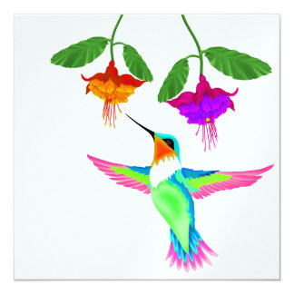 Hummingbird - SRF Custom Invitations