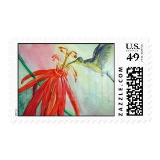 Hummingbird stamp book