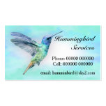 Hummingbird Standard Business Card