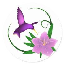 'Hummingbird'  stickers