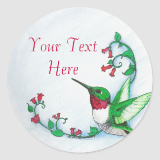 Hummingbird Stickers