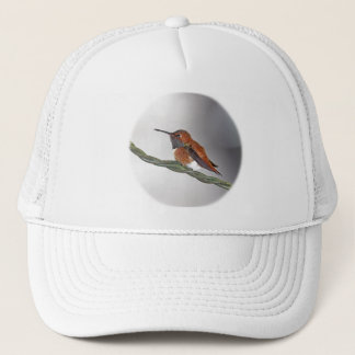 Hummingbird Sticking Out Tongue Trucker Hat