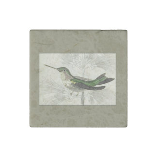 Hummingbird Stone Magnet