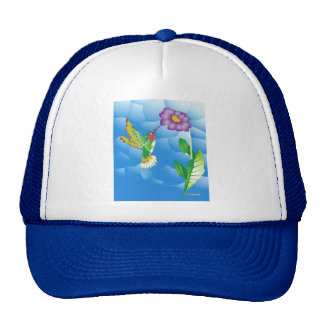 Hummingbird:  Stylized Trucker Hats