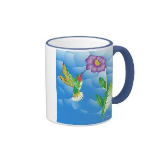Hummingbird:  Stylized Coffee Mugs