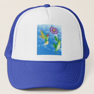 Hummingbird:  Stylized Trucker Hat