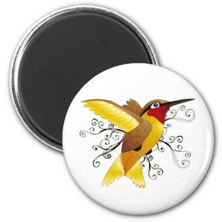 Hummingbird Swirl Magnets