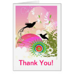 Hummingbird Thank You Note Cards